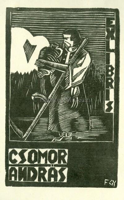 Ex libris Csomor András