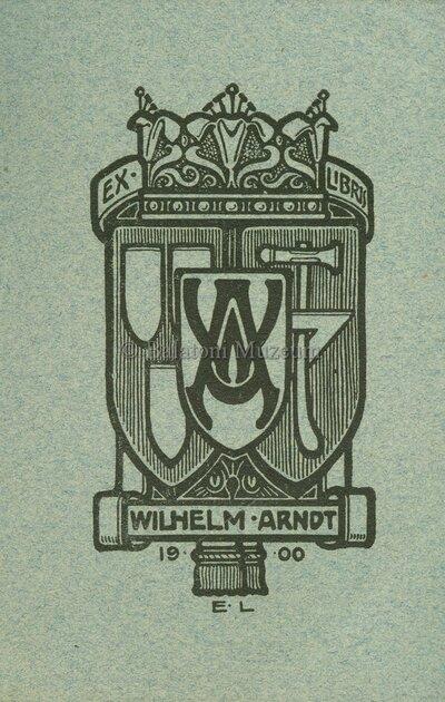 Ex libris Wilhelm Arndt