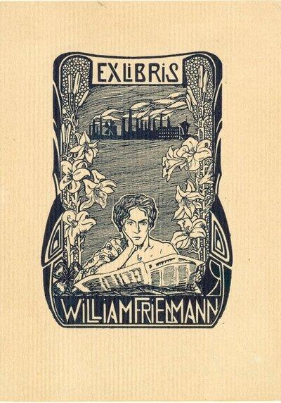 Ex libris William Friedmann
