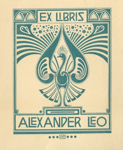 Ex libris Alexander Leo