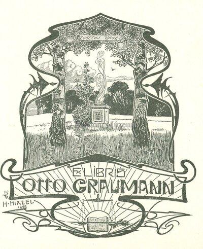 Ex libris Otto Graumann