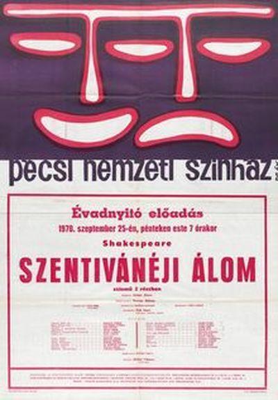 Szentivánéji álom plakát