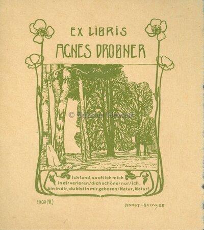Ex libris Agnes Dobner