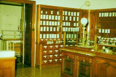 Színes dia, Patika Múzeum, Pápa