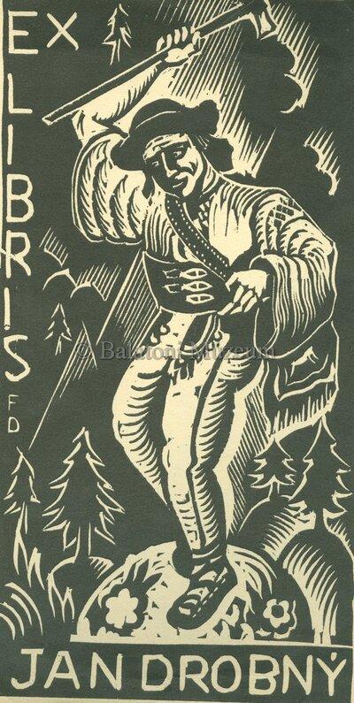 Ex libris Jan Drobny