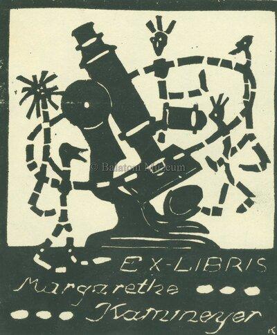 Ex libris Margarethe Kammeyer