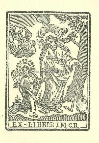 Ex libris: J.M.C.R.