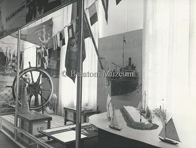 A Balatoni Múzeum 1986-os állandó kiállítása - hajózástörténet