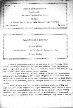 Somogyi Ismeretterjesztő, 3. szám, 1958. november