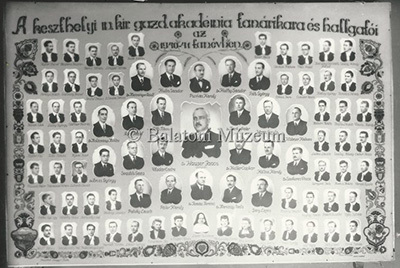 A Gazdasági Akadémia hallgatói 1940/41. tanévben