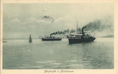Gőzhajók a Balatonon