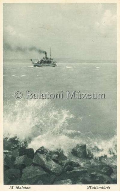 A Balaton, Hullámtörés