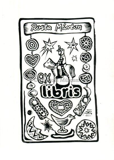 Ex libris Rosta Márton