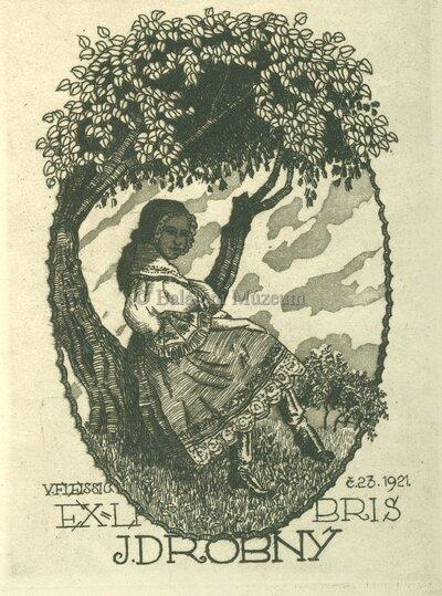 Ex libris J. Drobny