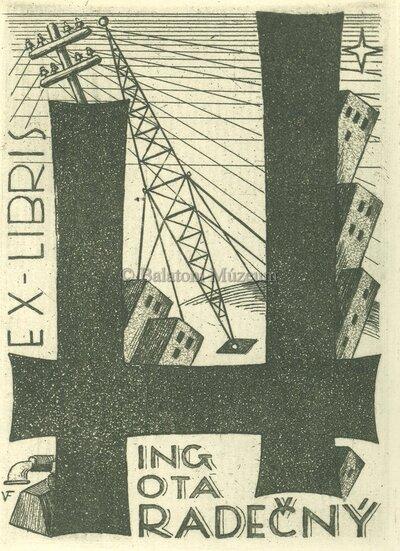 Ex libris Ing. Ota Hradecny