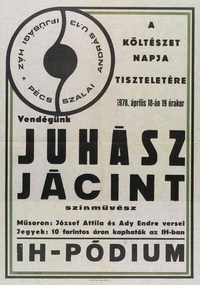 József Attila és Ady Endre versei Juhász Jácint által