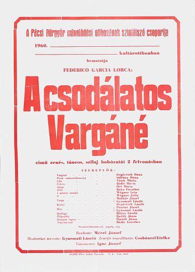 A csodálatos Vargáné plakát