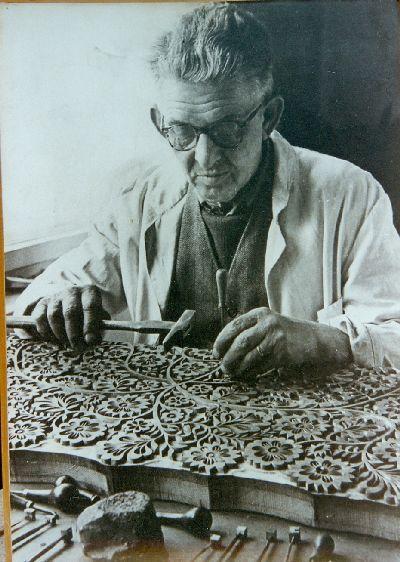 Josef Vlk mintafakészítő