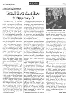Zsoldos Andor (1893-1970) - újságcikk