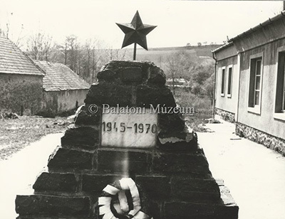 II. világháborús emlékmű Vindornyaszőlősön