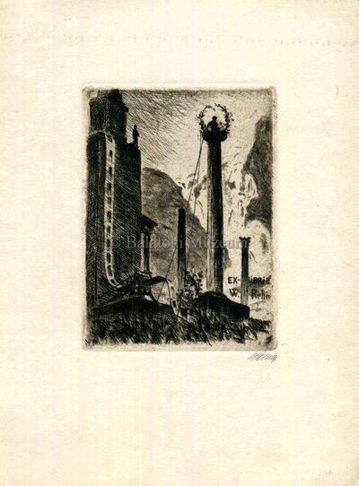 Ex libris W. Rehn.