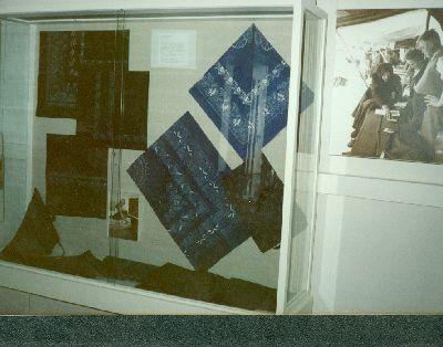 Stengel János kékfestő vitrinje, Kékfestő Múzeum, Pápa