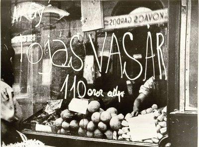 Inflációs árak  Budapest 1948.