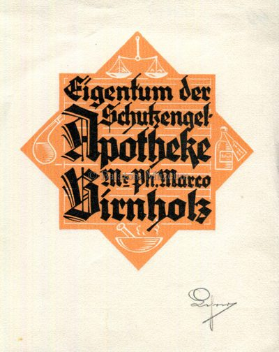 Eigentum der Schutzengel-Apotheke Mr Ph. Marco Birnholz