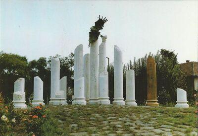 Jászberény  II. világháborús emlékmű, Győrfi Sándor 1992.