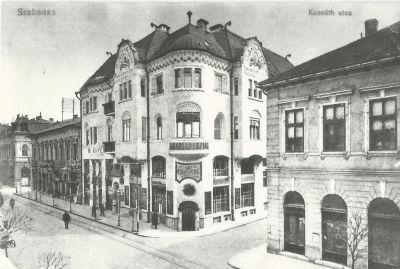 Kávéház, Szabadka, 1918