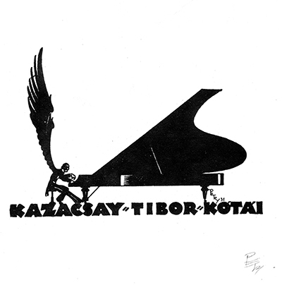 Ex libris Kazacsay Tibor