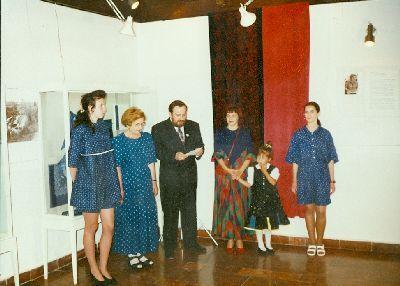Gyengéné Császár Andrea iparművész kiállítása, Kékfestő Múzeum, Pápa