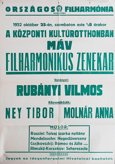 MÁV Filharmonikus Zenekar koncertje
