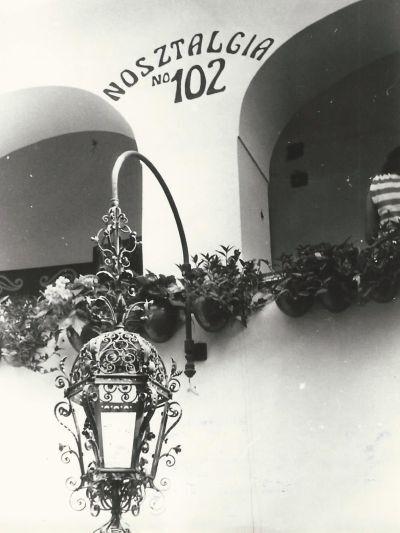 Nosztalgia Kávéház, Szentendre, 1981
