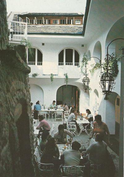 Nosztalgia Kávéház - képeslap, Szentendre, 1984