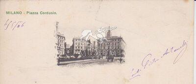 Képeslap-Milano