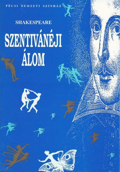 Szentivánéji álom műsorfüzet