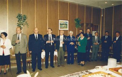 Polgármesteri fogadás a Juventus Étteremben. Helikon 96.