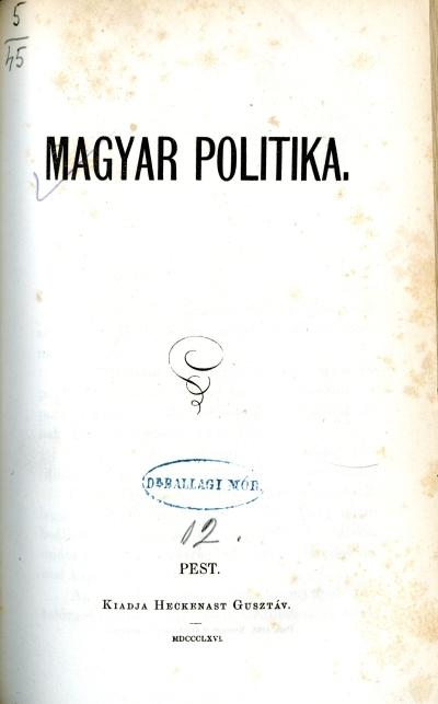 Magyar politika