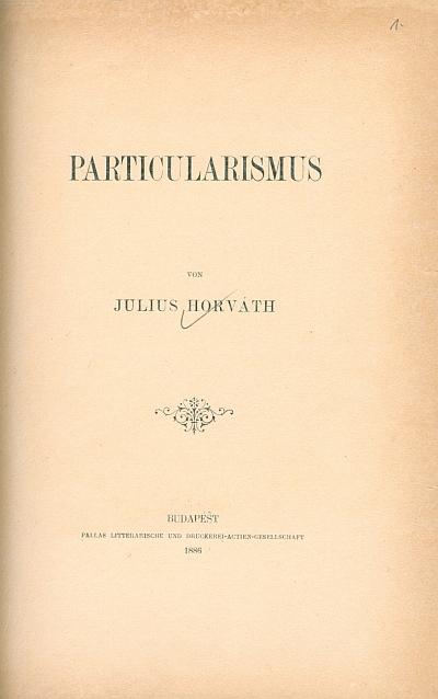 Particularismus