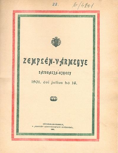 Zemplén-Vármegye