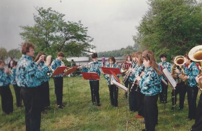 Balatoni évadnyitó. Zalai Balatonpart Ifjúsági Fúvószenekar műsora