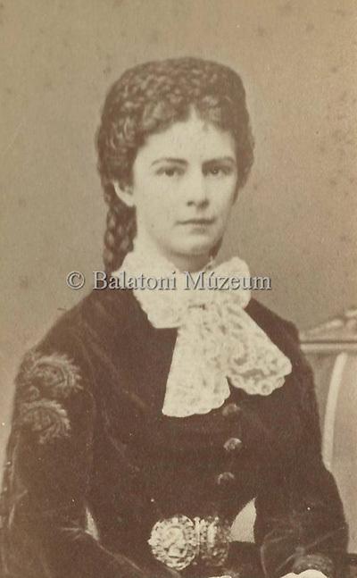Erzsébet osztrák császárné és magyar királyné portréja