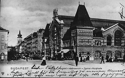 Központi Vásárcsarnok Budapest 1903.