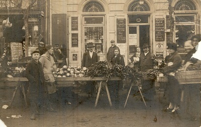 Piac Budapest 1930-as évek