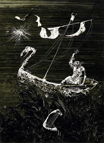Kalevala illusztráció