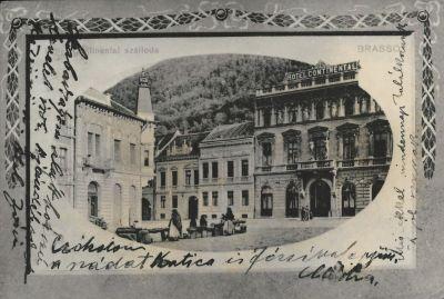 Continental Szálloda, Brassó, 1909