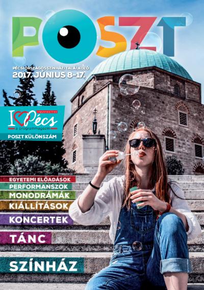 I love Pécs programmagazin POSZT különszám