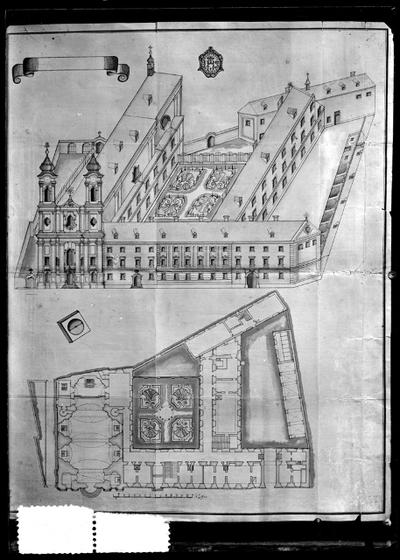 A jezsuiták rendháza és temploma