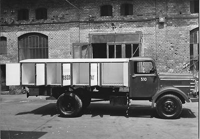 Jégszállító teherautó Budapest 1956